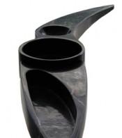 Centro de mesa (mármol negro)