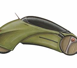 Boceto de auto 1998